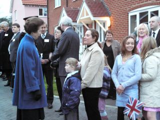 HRH The Princess Royal Visit 2004